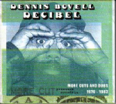 Dennis Bovell - Decibel: More Cuts & Dubs 1976 - 1983 (Pressure Sounds) CD